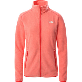 The North Face 100 Glacier Full-Zip Jacket Women horizon red/pearl blush
